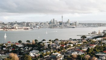 New Zealand cityscape