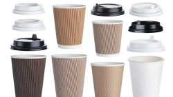 Disposable coffee cups are not recyclable