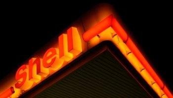 Shell oil sign
