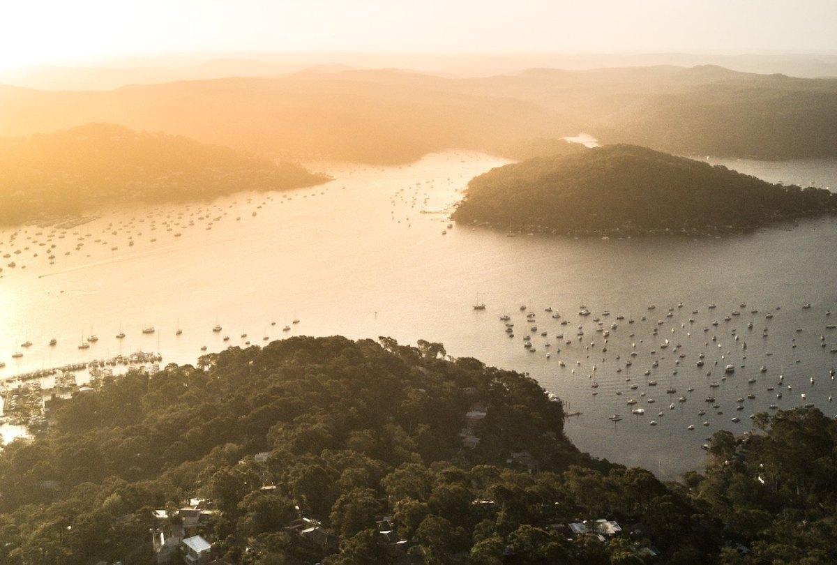 Sydney aerial water