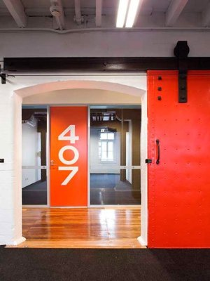 Internal photograph of Flourmill-Studios by Steve-Back
