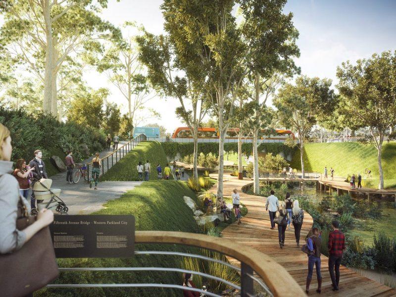 Wianamatta Creek illustration