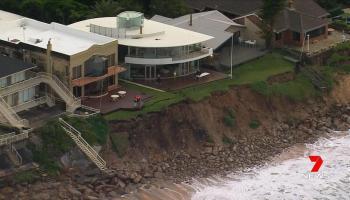 coastal erosion wamberal