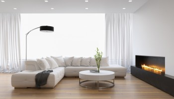 gas heater living room