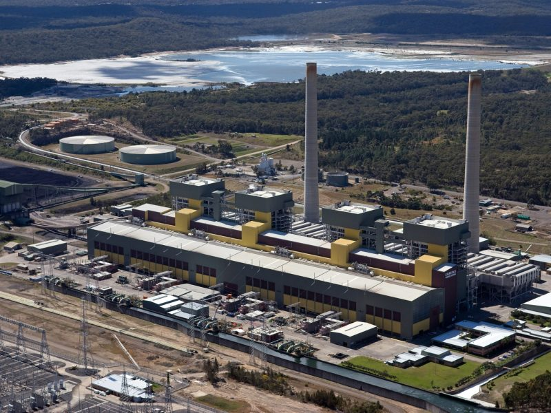 Eraring power station is a black coal-fired power station on the shores of Lake Macquarie