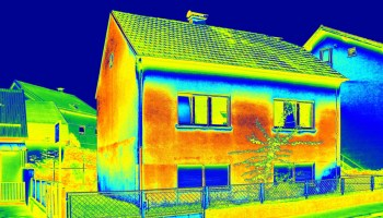 thermal view of house