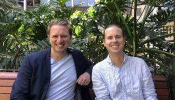 Greener founders Tom Ferrier and Neil McVeigh