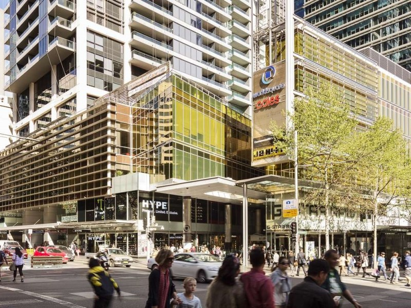ISPT owns a 50 per cent stake in Sydney retail and commercial hub, World Square. Image from ISPT website