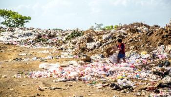Rubbish dump in Nicaragua. Photo by Hermes Rivera