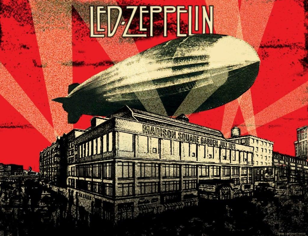 led zeplin airship