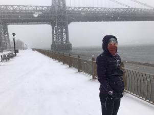 East river snow run