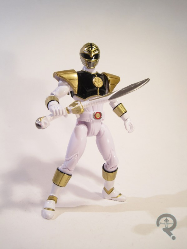 White Ranger Figure In Question