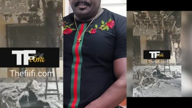 Photo of Actor Koo Fori's House Totally Burns