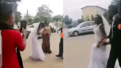 Photo of I Will Not Marry Again – Bride Runs Away With Her Wedding Gown(Video)
