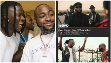 """Photo of Davido Turns Blind On Stonebwoy's """"Activate"""" Song With Him, Releases """"Jowo"""" video To Kill Its Shine"""
