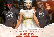 Photo of DopeNation x Adelaide The Seer – What A God (Prod By DopeNation)