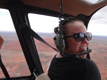 I was the copilot!