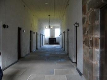 Hallway of standard cells.