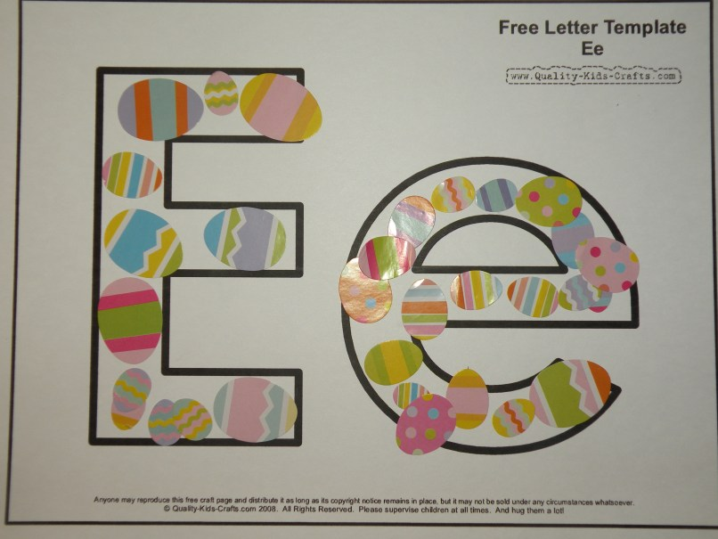 Letter E Arts And Crafts For Toddlers Letterjdi Org