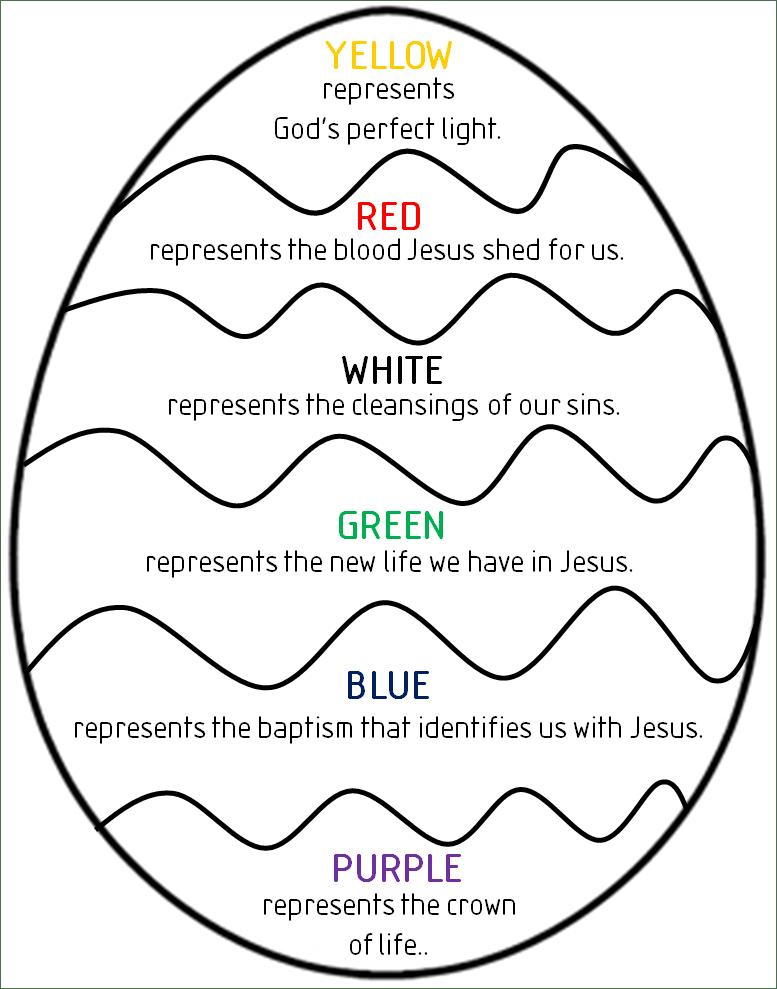 Easter Egg Color Craft