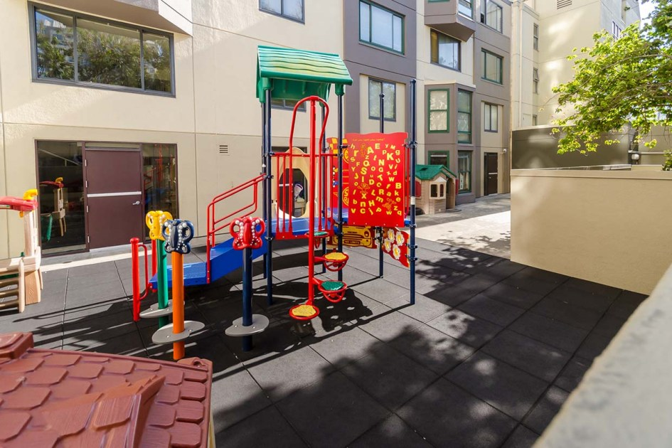 the fillmore center playground area