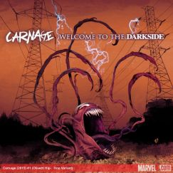 Carnage (2015) #1 variant cover by Ariel Olivetti
