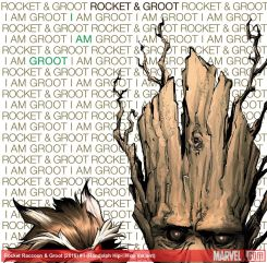 Rocket Raccoon and Groot #1 variant cover by Khary Randolph