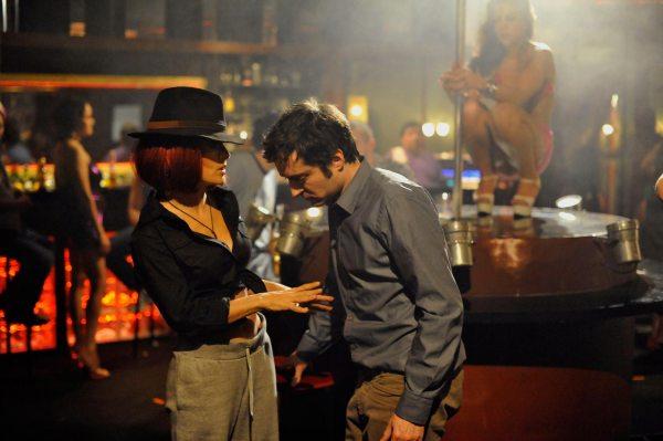 Salma Hayek Strips 'americano' Trailer