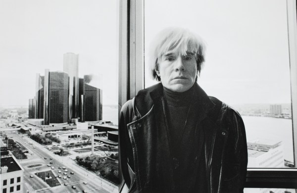 Andy Warhol Close- In 'conversations'