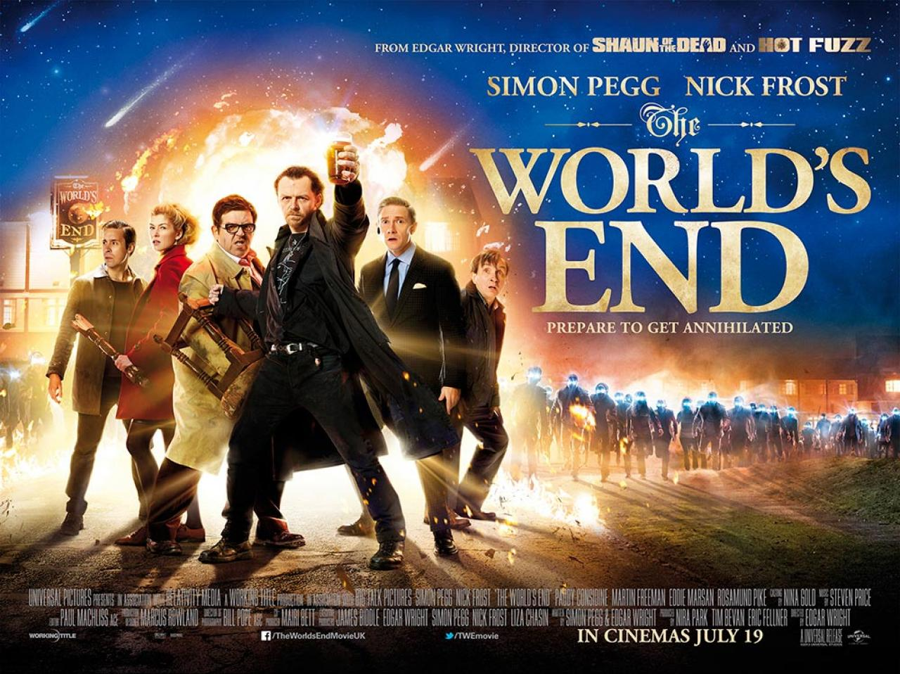 The World S End Looms In New Still Amp Posters For Edgar