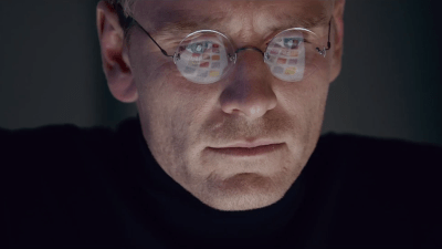 Michael Fassbender stars as iconic tech genius Steve Jobs, playing at the BFI London Film Festival