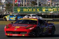 2013 Rolex 24 Waltrip Ferrari In Field