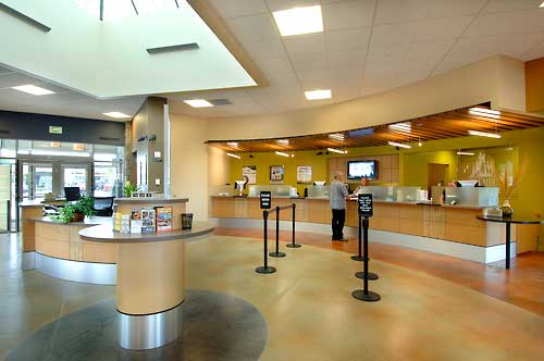 LEED Gold Branch For A True Green Credit Union