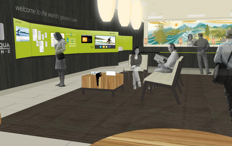 Umpqua Bank Branch Interior