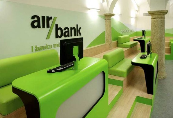Customers Saddle Up With Staff In Air Bank Branch