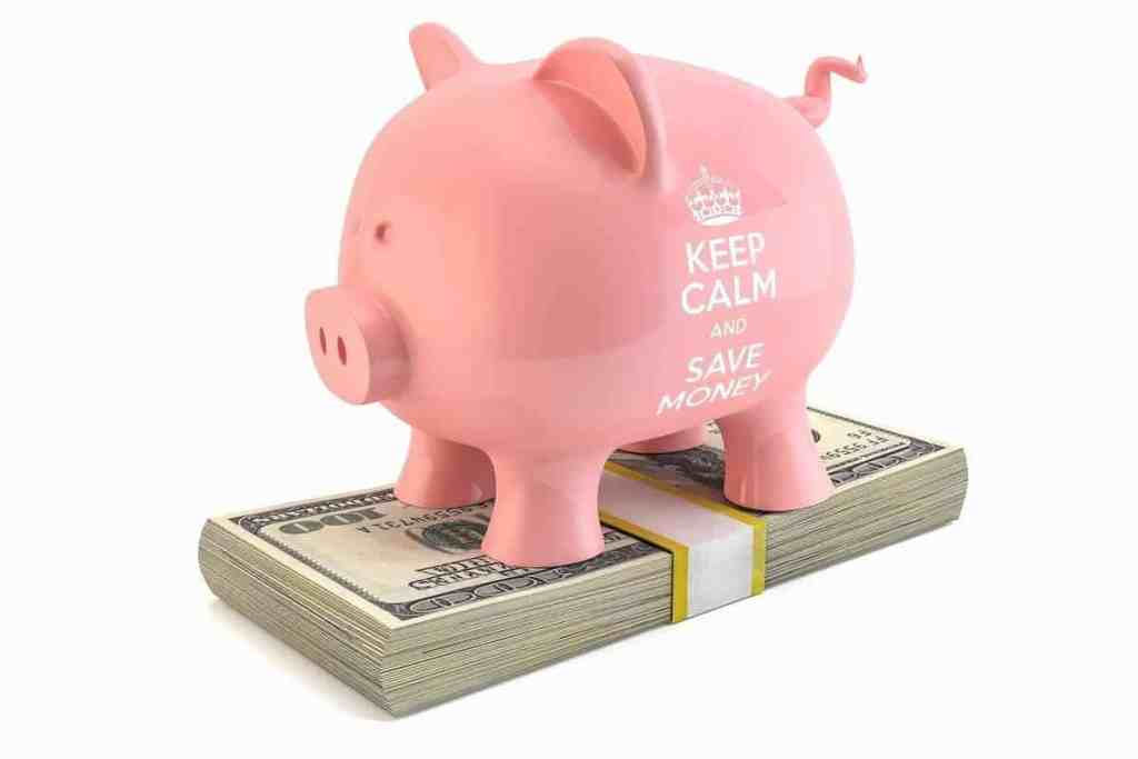 a piggy bank for saving money to invest in stocks and etf's later