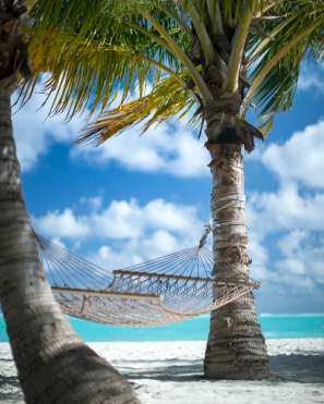 A hammock on a great value holiday.