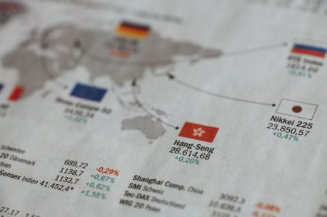 An image of stocks being researched in the paper