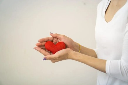 A charity heart image