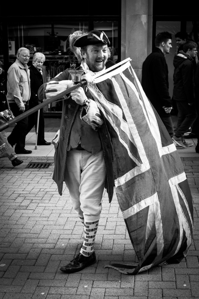 Harrogate Mad Mayor and Flag