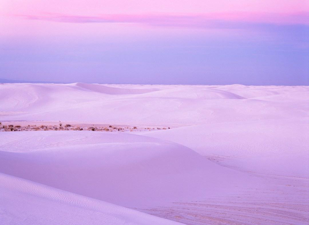 White Sands Pastel Sunset #1
