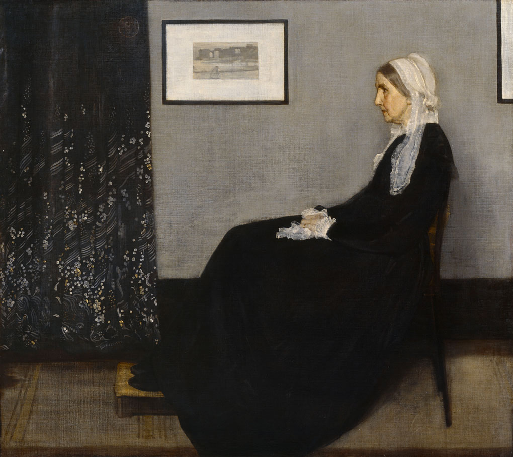 Whistler James Abbott Mac Neil (1834-1903). Paris, musÈe d'Orsay. RF699.