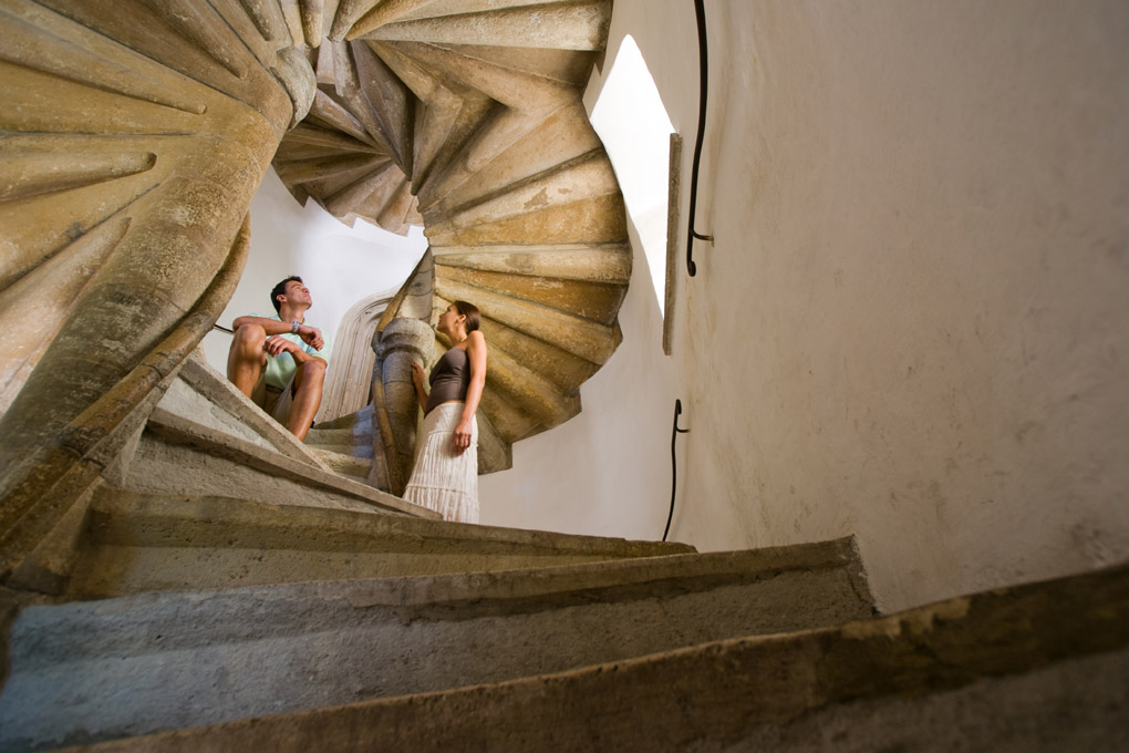 The Double Spiral Staircase in Graz