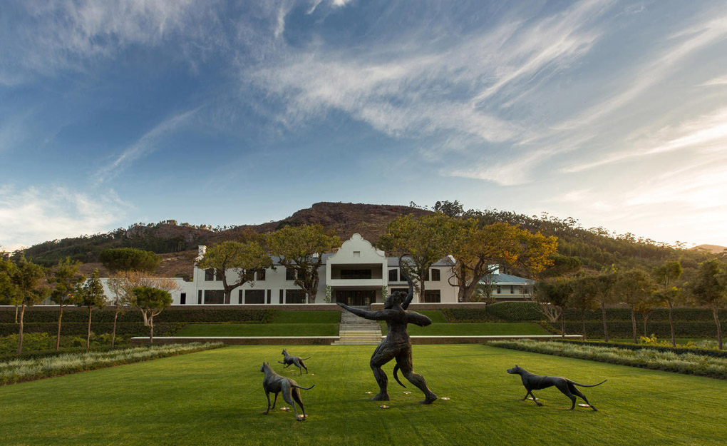 South Africa's Cape Winelands route - Leeu House