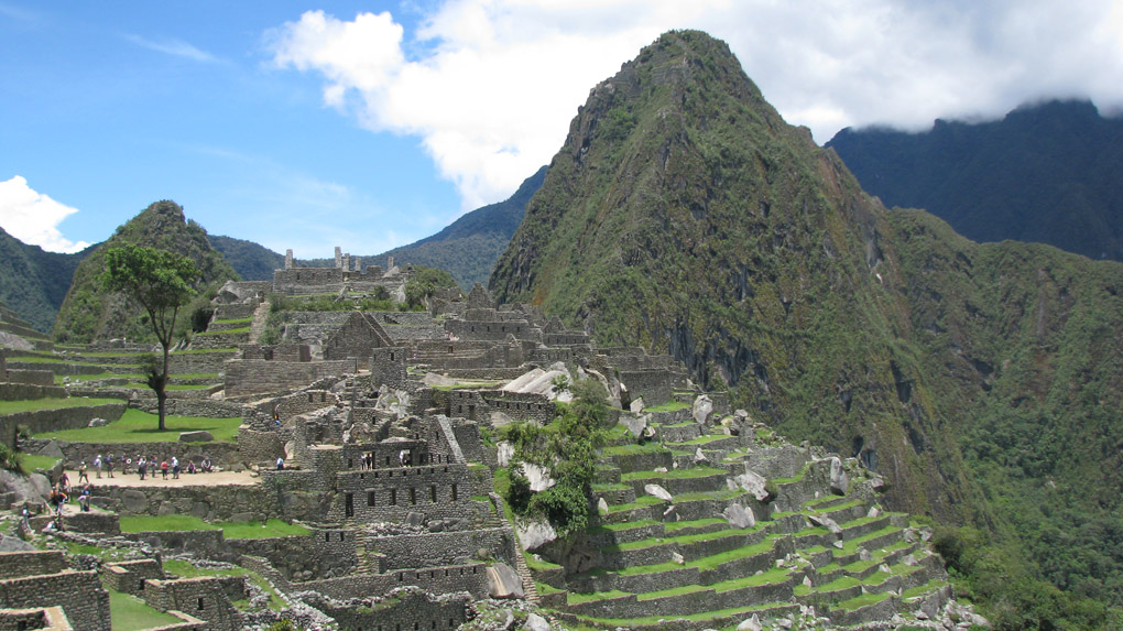 South America; Peru; Machu Picchu