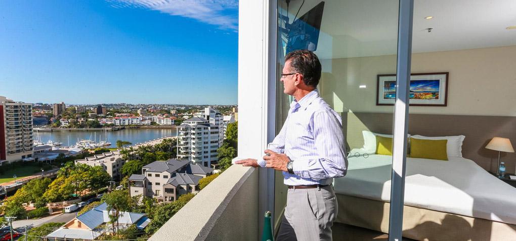 Balcony Executive Suite The Point Brisbane