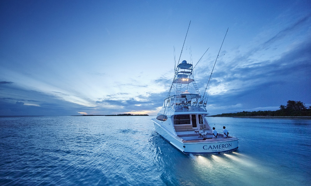 Maldives COMO Maalifushi, fishing