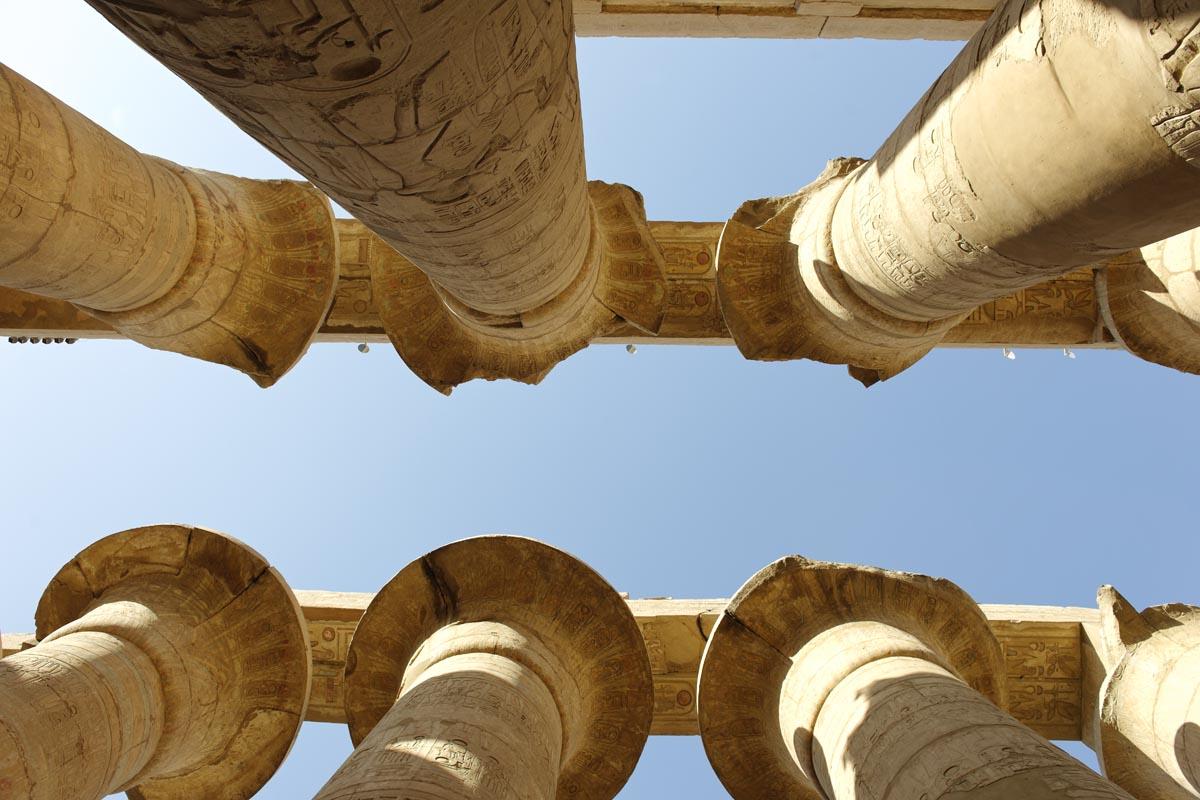 Egypt, Karnak, Abercrombie and Kent, cruising
