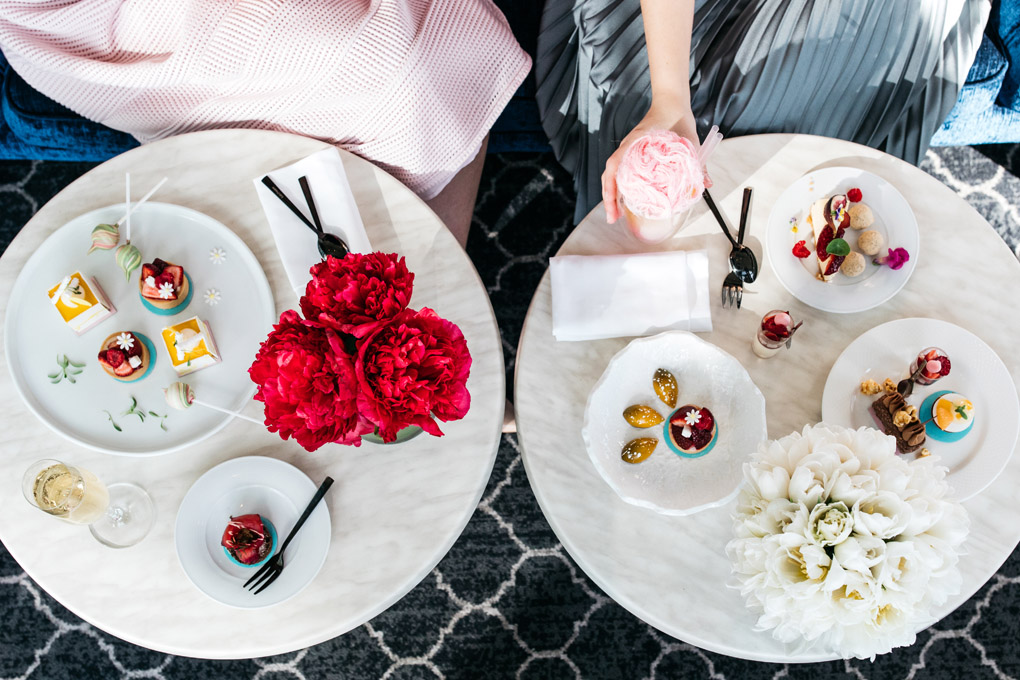 Anna Polyviou, Shangri-La Sydney, High tea