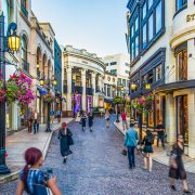 Two Rodeo Drive, Beverly Hills, Los Angeles, luxury shopping